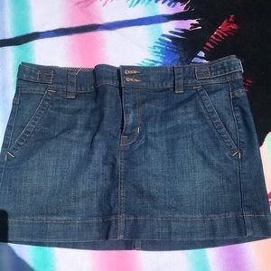 Gap Limited Edition Jean Skirt, size 12